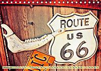 Nostalgie auf 2451 Meilen - Route 66 (Tischkalender 2019 DIN A5 quer) - Produktdetailbild 10