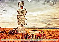 Nostalgie auf 2451 Meilen - Route 66 (Wandkalender 2019 DIN A4 quer) - Produktdetailbild 3