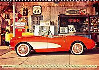Nostalgie auf 2451 Meilen - Route 66 (Wandkalender 2019 DIN A2 quer) - Produktdetailbild 2