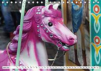 NOSTALGIE KARUSSELLPFERDE (Tischkalender 2019 DIN A5 quer) - Produktdetailbild 6