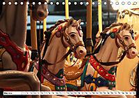 NOSTALGIE KARUSSELLPFERDE (Tischkalender 2019 DIN A5 quer) - Produktdetailbild 5