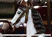 NOSTALGIE KARUSSELLPFERDE (Wandkalender 2019 DIN A4 quer) - Produktdetailbild 3