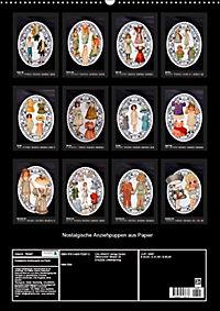 Nostalgische Anziehpuppen aus Papier (Wandkalender 2019 DIN A2 hoch) - Produktdetailbild 13