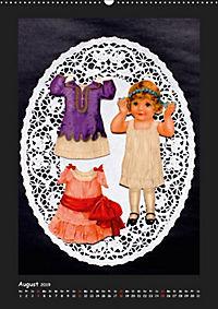 Nostalgische Anziehpuppen aus Papier (Wandkalender 2019 DIN A2 hoch) - Produktdetailbild 8
