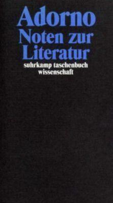 Noten zur Literatur, Theodor W. Adorno