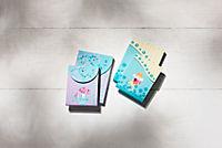 Notizblöcke Glückspilz & Schutzengel, 4er Set - Produktdetailbild 1