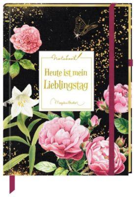 Notizbuch - Heute ist mein Lieblingstag (Stoffeinband)