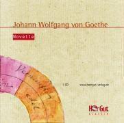 Novelle, 1 Audio-CD, Johann Wolfgang von Goethe