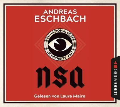 NSA - Nationales Sicherheits-Amt, 10 Audio-CDs, Andreas Eschbach