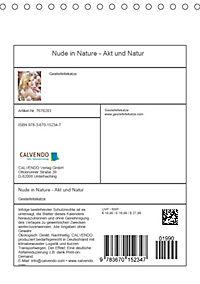 Nude in Nature - Akt und Natur (Tischkalender 2019 DIN A5 hoch) - Produktdetailbild 13