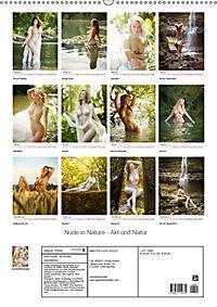 Nude in Nature - Akt und Natur (Wandkalender 2019 DIN A2 hoch) - Produktdetailbild 13