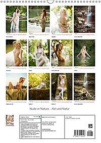 Nude in Nature - Akt und Natur (Wandkalender 2019 DIN A3 hoch) - Produktdetailbild 13