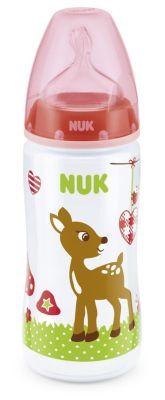 NUK Babyglück FC PP Flasche 300ml rot