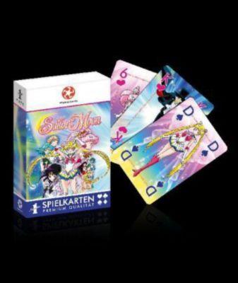 Number 1 Spielkarten Sailor Moon (12er) (Spielkarten)