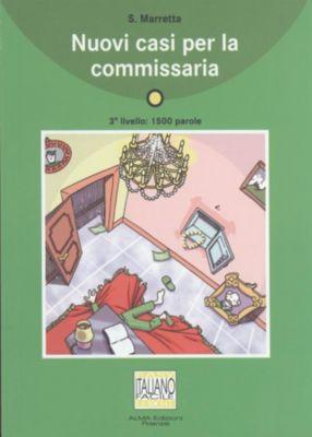Nuovi casi per la commissaria, Marretta Saro
