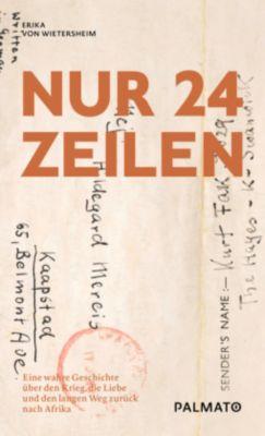 Nur 24 Zeilen - Erika von Wietersheim  