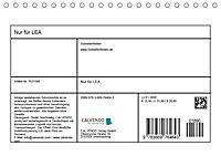 Nur für LEA (Tischkalender 2019 DIN A5 quer) - Produktdetailbild 1