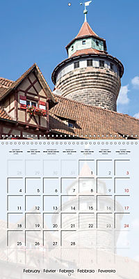 NUREMBERG (Wall Calendar 2019 300 × 300 mm Square) - Produktdetailbild 2