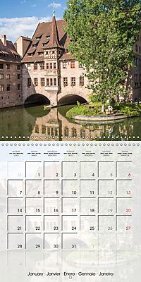 NUREMBERG (Wall Calendar 2019 300 × 300 mm Square) - Produktdetailbild 1