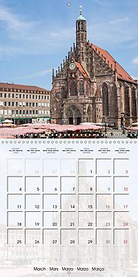 NUREMBERG (Wall Calendar 2019 300 × 300 mm Square) - Produktdetailbild 3