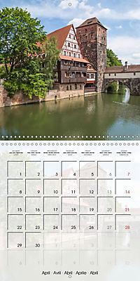 NUREMBERG (Wall Calendar 2019 300 × 300 mm Square) - Produktdetailbild 4