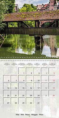 NUREMBERG (Wall Calendar 2019 300 × 300 mm Square) - Produktdetailbild 5