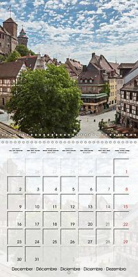 NUREMBERG (Wall Calendar 2019 300 × 300 mm Square) - Produktdetailbild 12