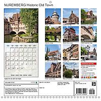 NUREMBERG (Wall Calendar 2019 300 × 300 mm Square) - Produktdetailbild 13