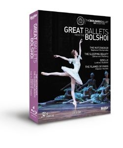 Nussknacker/Dornröschen/Giselle, Grigorovich, Bolshoi Ballet, Bolshoi Orchestra