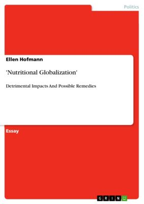 'Nutritional Globalization', Ellen Hofmann
