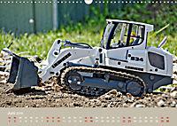 Nutz u. Baufahrzeugmodelle beim Dampfmodellbautreffen in Bisingen (Wandkalender 2019 DIN A3 quer) - Produktdetailbild 6