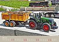 Nutz u. Baufahrzeugmodelle beim Dampfmodellbautreffen in Bisingen (Wandkalender 2019 DIN A3 quer) - Produktdetailbild 7