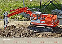 Nutz u. Baufahrzeugmodelle beim Dampfmodellbautreffen in Bisingen (Wandkalender 2019 DIN A3 quer) - Produktdetailbild 9