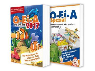 O-Ei-A Profi-Bundle 2017 - O-Ei-A 2017 und O-Ei-A Spezial (5. Auflage), 2 Bde. - André Feiler |