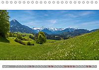 Oberallgäu Panorama (Tischkalender 2019 DIN A5 quer) - Produktdetailbild 4