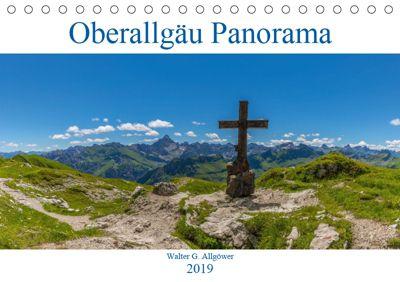 Oberallgäu Panorama (Tischkalender 2019 DIN A5 quer), Walter G. Allgöwer