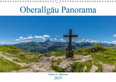 Oberallgäu Panorama (Wandkalender 2019 DIN A3 quer), Walter G. Allgöwer