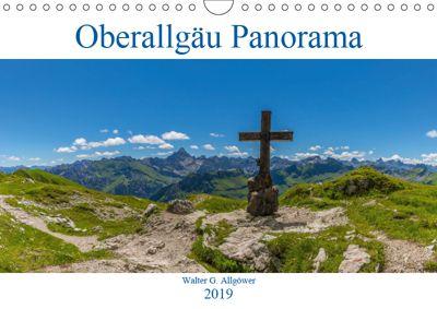 Oberallgäu Panorama (Wandkalender 2019 DIN A4 quer), Walter G. Allgöwer