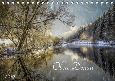 Obere Donau (Tischkalender 2019 DIN A5 quer), Christine Horn
