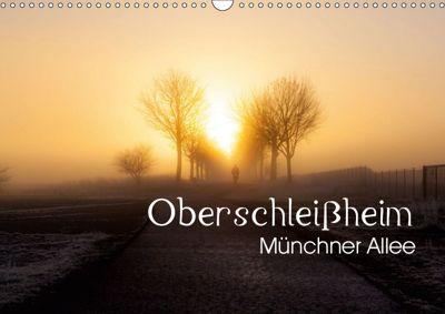 Oberschleißheim - Münchner Allee (Wandkalender 2019 DIN A3 quer), Andreas 'Elwood' Brauner