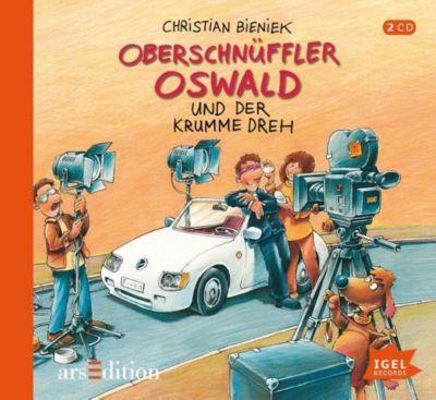 Oberschnüffler Oswald und der krumme Dreh, 2 Audio-CDs, Christian Bieniek