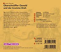 Oberschnüffler Oswald und der krumme Dreh, 2 Audio-CDs - Produktdetailbild 1