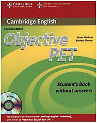 Students objective second pet edition book