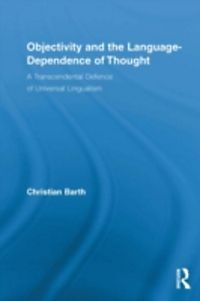Objectivity and the language dependence of thought ebook for Baustatik buch