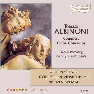 Oboenkonzerte op. 7 Nr. 3, 6, 9, 12 / op. 9 Nr. 2, 5, 8, 11, Robson, Standage, Colleg.mus.90