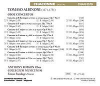 Oboenkonzerte op. 7 Nr. 3, 6, 9, 12 / op. 9 Nr. 2, 5, 8, 11 - Produktdetailbild 1