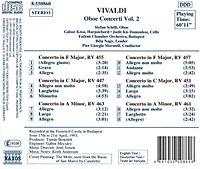 Oboenkonzerte Vol. 2 - Produktdetailbild 1