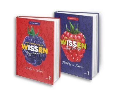 Obst, Gemüse und Co. - WISSEN häppchenweise, 2 Bde. - Markus Metka  