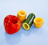 Obst- und Gemüseaushöhler, 5tlg. - Produktdetailbild 2