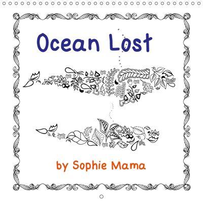 Ocean Lost by Sophie Mama (Wall Calendar 2019 300 × 300 mm Square), Mathias Bleckmann